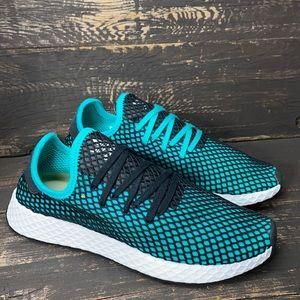 "Adidas Deerupt Trainers in ""Aqua"" Size 9.5"